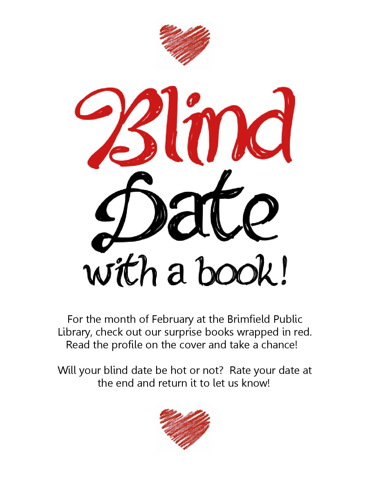 Blind Date With a Book at the Brimfield Public Library