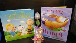 Easter picture books and Easter egg craft