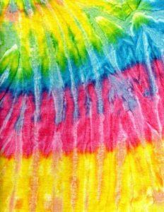 Tie Die Colors