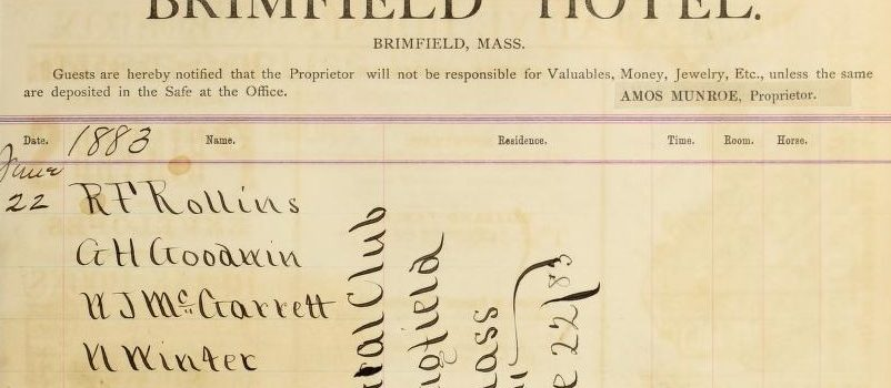 Digital Commonwealth: Historical Brimfield Documents Online