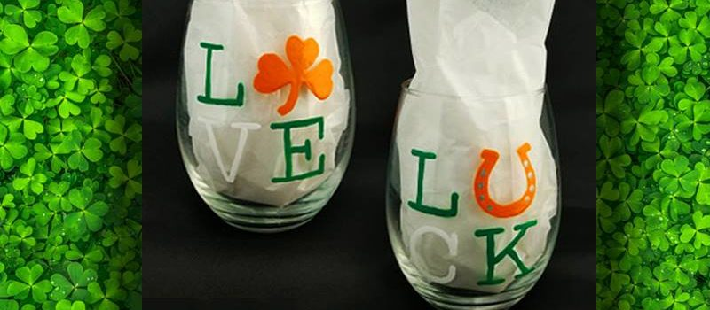 Irish Glasses Paint Party