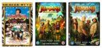Jumanji movie covers