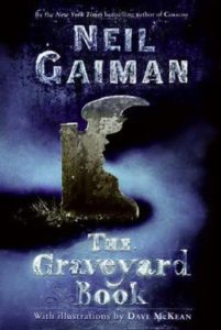 "Cover of ""The Graveyard Book"""